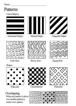 pattern worksheet by skimlines on deviantart. Black Bedroom Furniture Sets. Home Design Ideas
