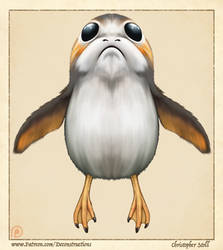 The Anatomy of a Porg by Christopher-Stoll