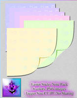 Ccd-sticky Notes-easter Pack Set PNG
