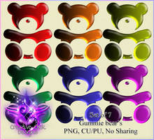 Ccd-gummie Bear Png Pack