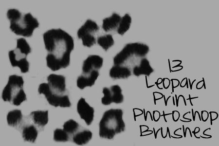 Leopardprint Photoshop Brushes by just-me-reg