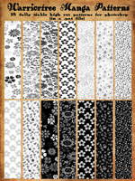 Manga Patterns TEASER by jekylnhyde