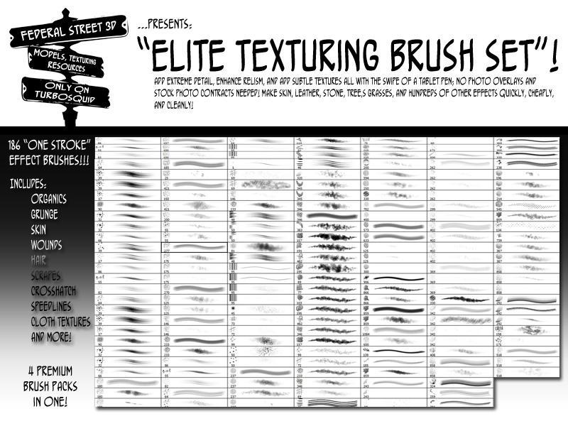 Fed Str 3d Elite brush teaser by jekylnhyde