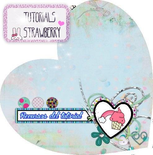 Recursos Del Tutorial By Tutorials Strawberry by Candy4354