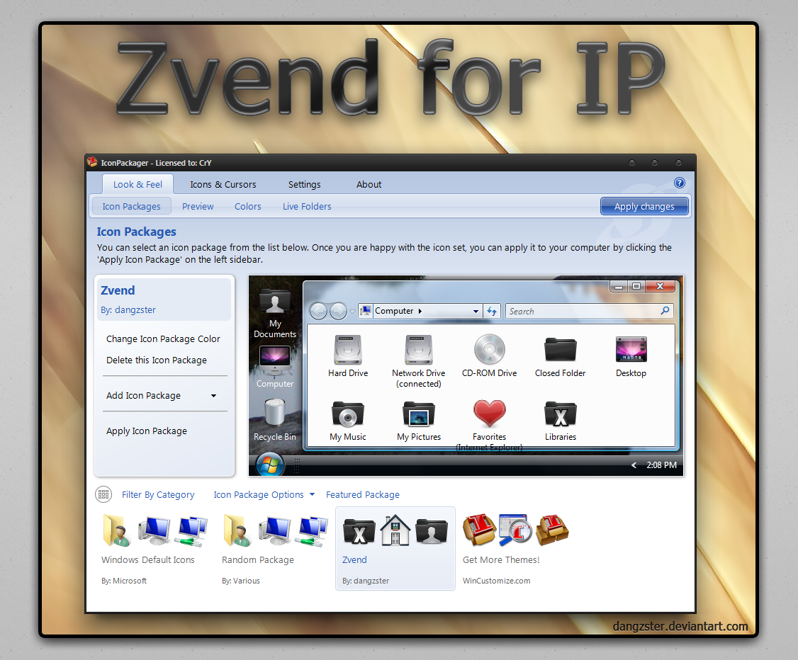 Zvend IP by dangzster