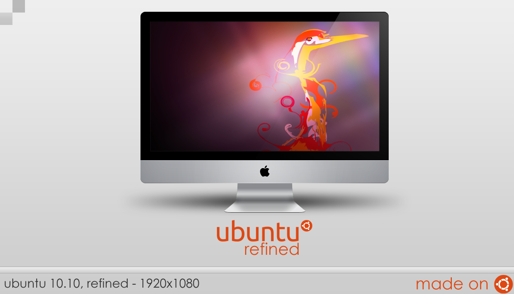 Ubuntu 10.10 Refined by AppliArt