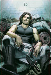 Sideshow Collectibles: Snake Plissken Process GIF by FabianMonk