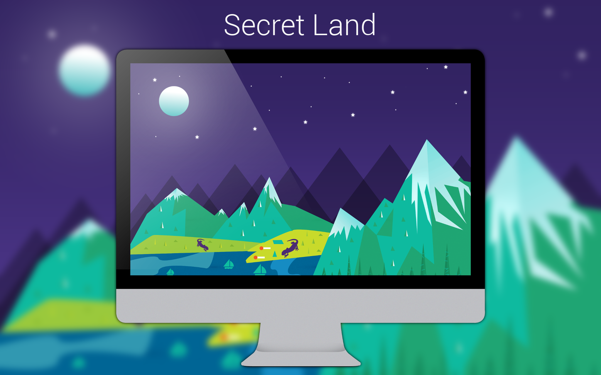 Secret Land Wallpaper