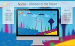 Numix - Glimpse of the Future - Wallpaper