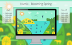 Numix - Blooming Spring - Wallpaper