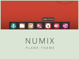Numix theme for Plank