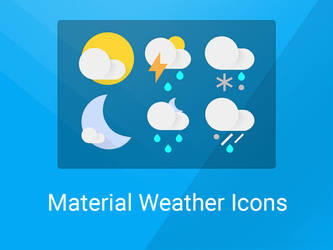 Google Now Weather Icons by NCrystal