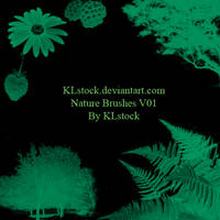 Nature Brushes by KLStock