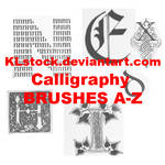 Calligraphy Brushes A-Z CS3