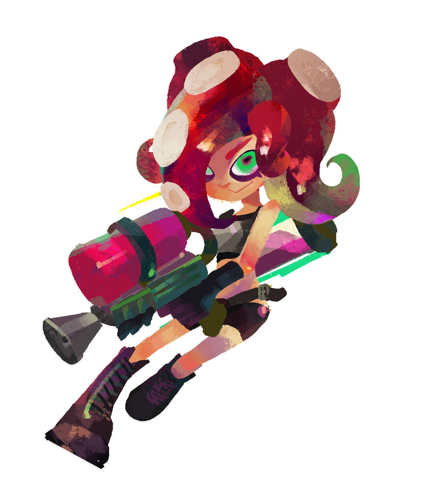 Hacking Inkopolis Octoling Tf By Clockworkmelody On