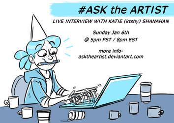 Ask the artist: Ktshy (starts in 5 MINUTES!!) by ktshy