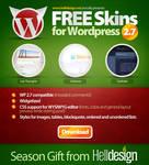 FREE Skins for WordPress v2.7