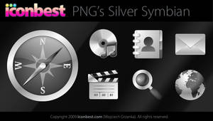 Silver Symbian Icons by voogee