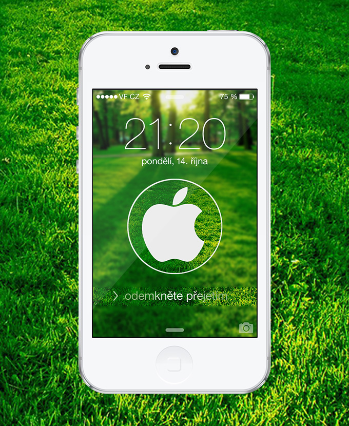 Nature Circle Apple Logo Wallpaper By Kamen911 On Deviantart