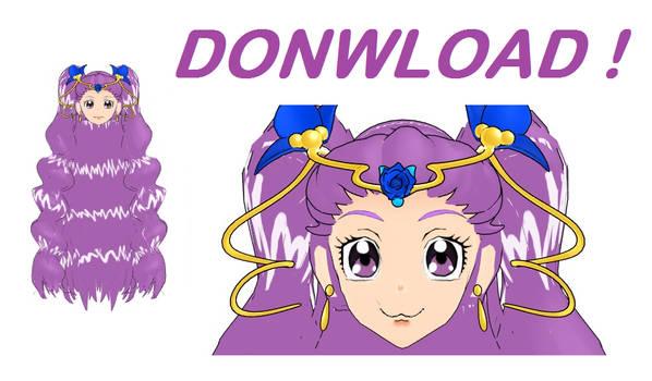 +DL - MMD Milky Rose Head - Yes PreCure 5 GoGo by gonzal03