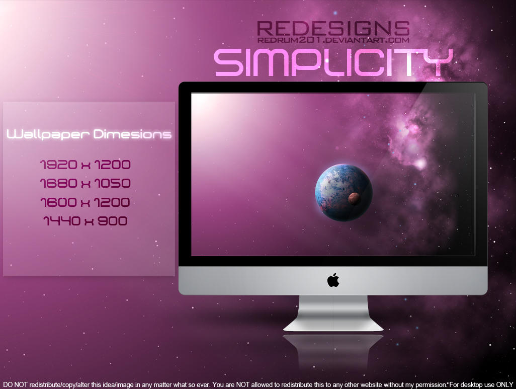 SIMPLICITY Wallpaper Pack by redrum201 on deviantART  Simplicity Wallpaper
