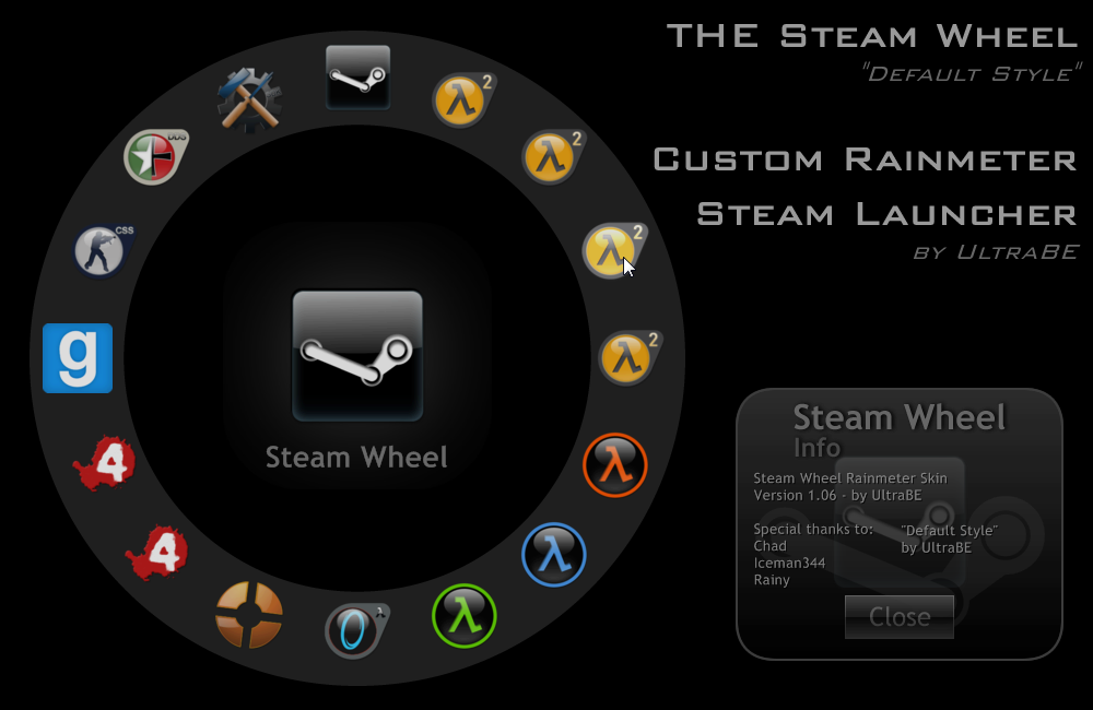 The Steam Wheel by UltraBE