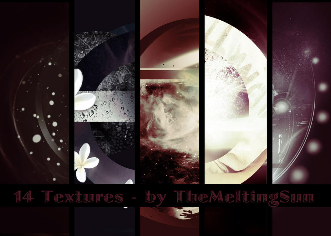 14 Textures by TheMeltingSun