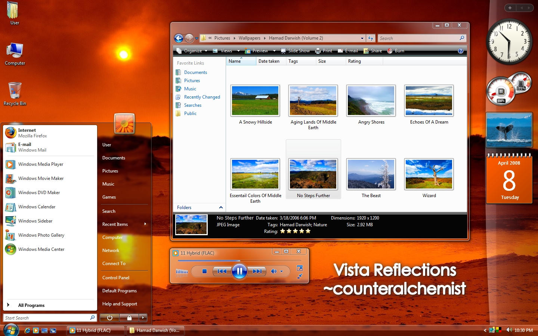 Vista Reflections by counteralchemist