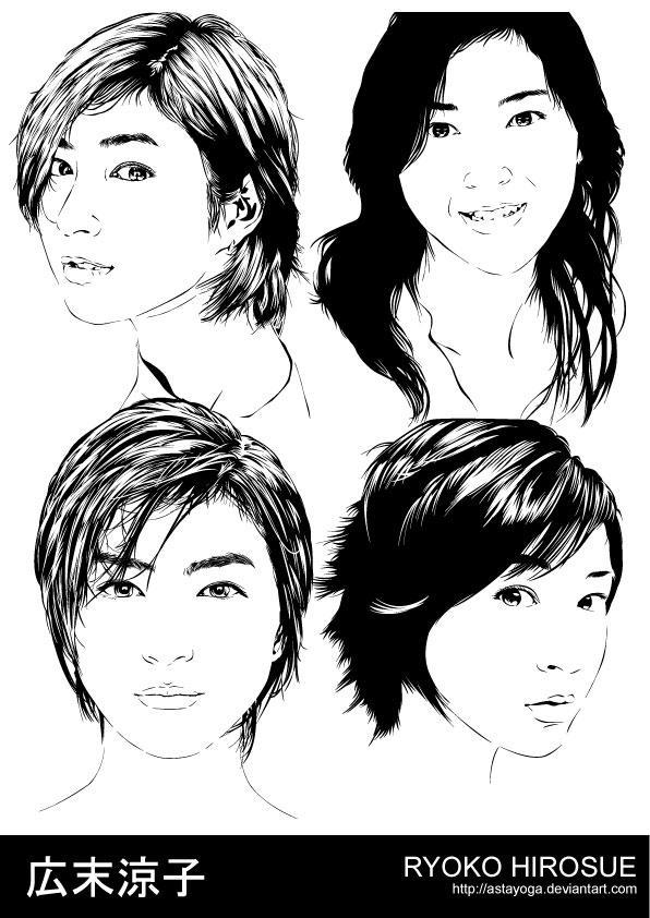 Ryoko Hirosue Artworks by astayoga
