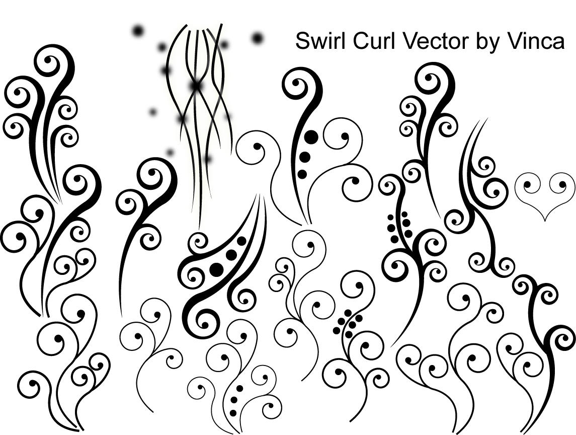 Curly Vector by Vinca
