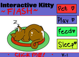 Interactive Kitty V.1 by Copkid