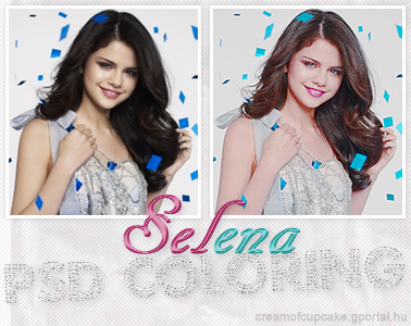 Selena Gomez PSD Coloring by ~mipsym on deviantART