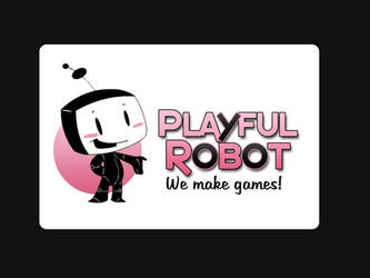 Playful robot animation by Chocolerian