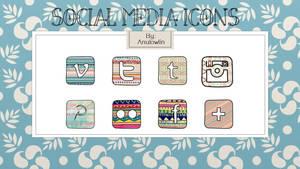 Social Media Icons Pack 4