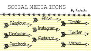 Social Media Icons Pack 9
