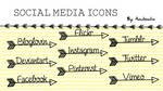 Social Media Icons Pack 9