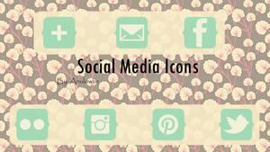 Social Media Icons Pack 11