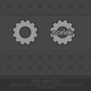 Gear Rainmeter by noirtek