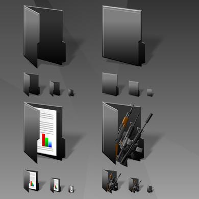 Elite Folders by IconTexto
