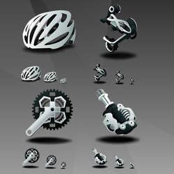 Mountain Bike by IconTexto