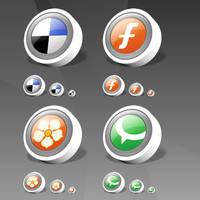 WebDev Social Bookmark by IconTexto
