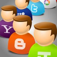 IconTexto Web 2.0 User