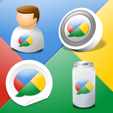 Google Buzz Icon Kit