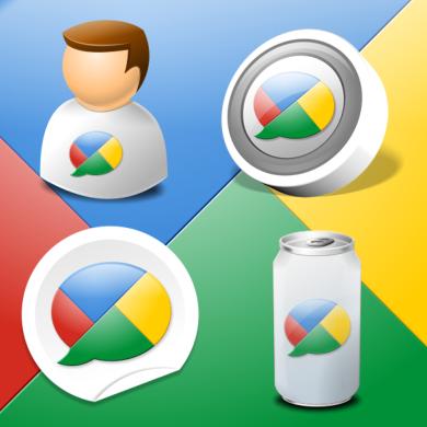 Google Buzz Icon Kit by IconTexto
