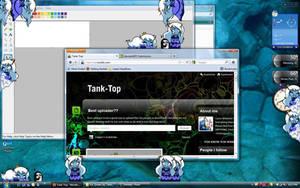 Ice Queen Desk-Top buddy by Fishinggurl