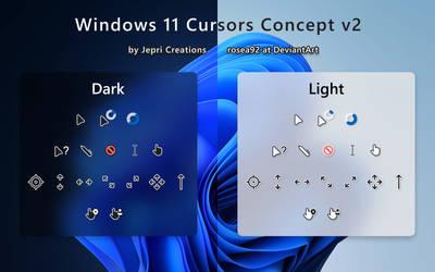 Windows 11 Cursors Concept v2