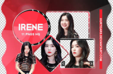 PNG PACK: Irene  #01 by hurtears