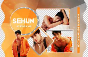 PNG PACK: Sehun #01 by hurtears
