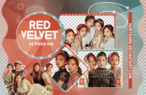 PNG PACK: Red Velvet  #001 by hurtears