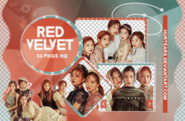 PNG PACK: Red Velvet  #001 by hurtears